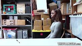 Ebony Teen Thief Sarah...