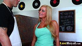 Busty blonde Mariah Madysinn...