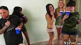 Twerking girls orgy Alaina...