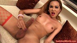Thai Ladyboy Nattcha Fucked...
