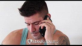 HD ManRoyale - Dick massage...