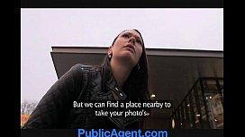 PublicAgent Pretty brunette gets...