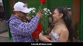 Tiny Spanish Latina Teen...