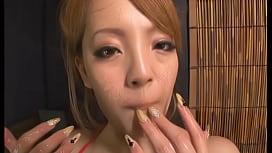 Hitomi tanaka suck big...