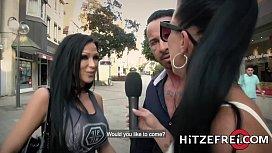 HITZEFREI Busty German MILF...
