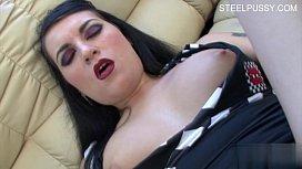 Cute girlfriend anal squirting...
