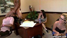 Hot girls celebrating birthday...