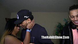 Dominican threesome gangbang freaks...
