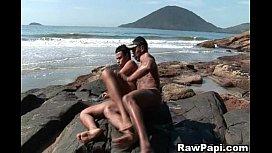 Gay Latino Gets His...