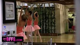 Ballerinas Punish New Girl...