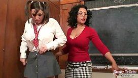 Teacher Danica Punishes Student...