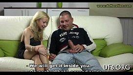 Juvenile virgin undressing...