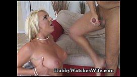 Voluptuous Wife's New Cock Treat