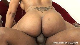 BACKSIDE Big Black Booty...