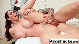 Alison Tyler gets cum...