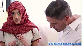 Arab babe fucked and...