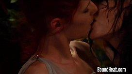 Lesbian Mistress Penetrating In...