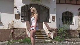 Desirable blonde loves her...
