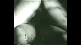 Vintage voyeur watches two...