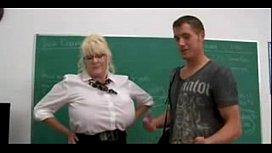 Big tits teacher hard...