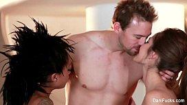 Dani Daniels Hot Threesome...