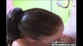 Hot spinner Riley Reid...