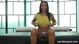 Hot Black Girl Starts...
