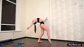 Very Hot Petite Gymnast...