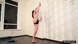 Very Hot Petite Gymnast Anna