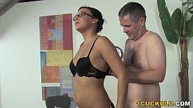 Ivy Winters Humiliates Cuckold...