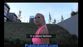 PublicAgent Russian blonde gets...