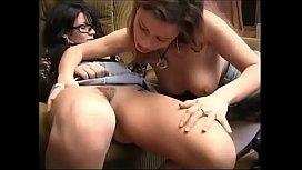 Mature horny lesbians teaching...