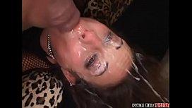Amber Rayne Brutal Throatfucking...