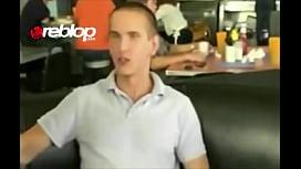 NO SHAME Waitress Interrupts Restaurant Public Blowjob