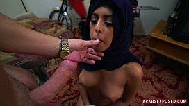 Hijab girl on her...