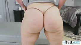 Chubby redhead slut sucking...