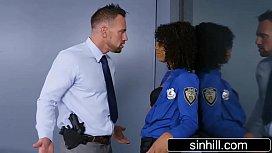 Horny Ebony Cop Wants...