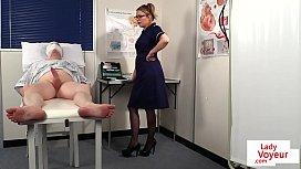 British nurse voyeur instructing...