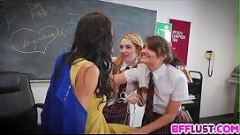 Teacher get lesbian payback...