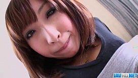 Saki Asaoka screams with...