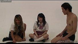 Japanese Femdom 3some Facesitting...
