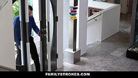 FamilyStrokes - Hot European teen...