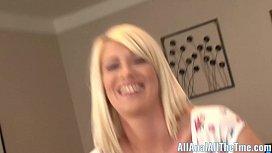 Blonde Babe Riley Jenner...