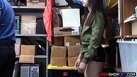 Hot body teen shoplifter...