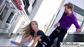 Busty Office Girl Nicole...