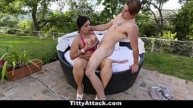 TittyAttack - Huge Tit Latina...