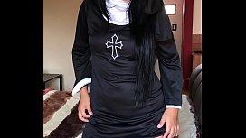 Monjita putota con medias -- Alizee Sanzeth