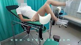 Gyno exam #021  &amp_ vibro orgasm