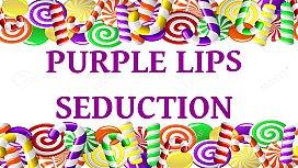 Purple Lips Seduction