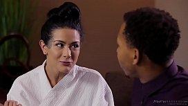 Katrina Jade vs oiled...